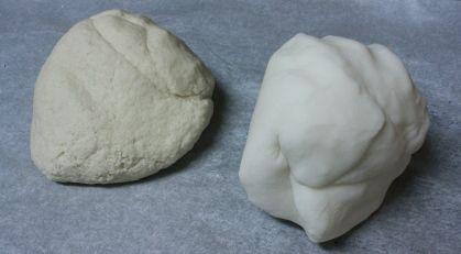 Salt Dough VS. Cornstarch Clay