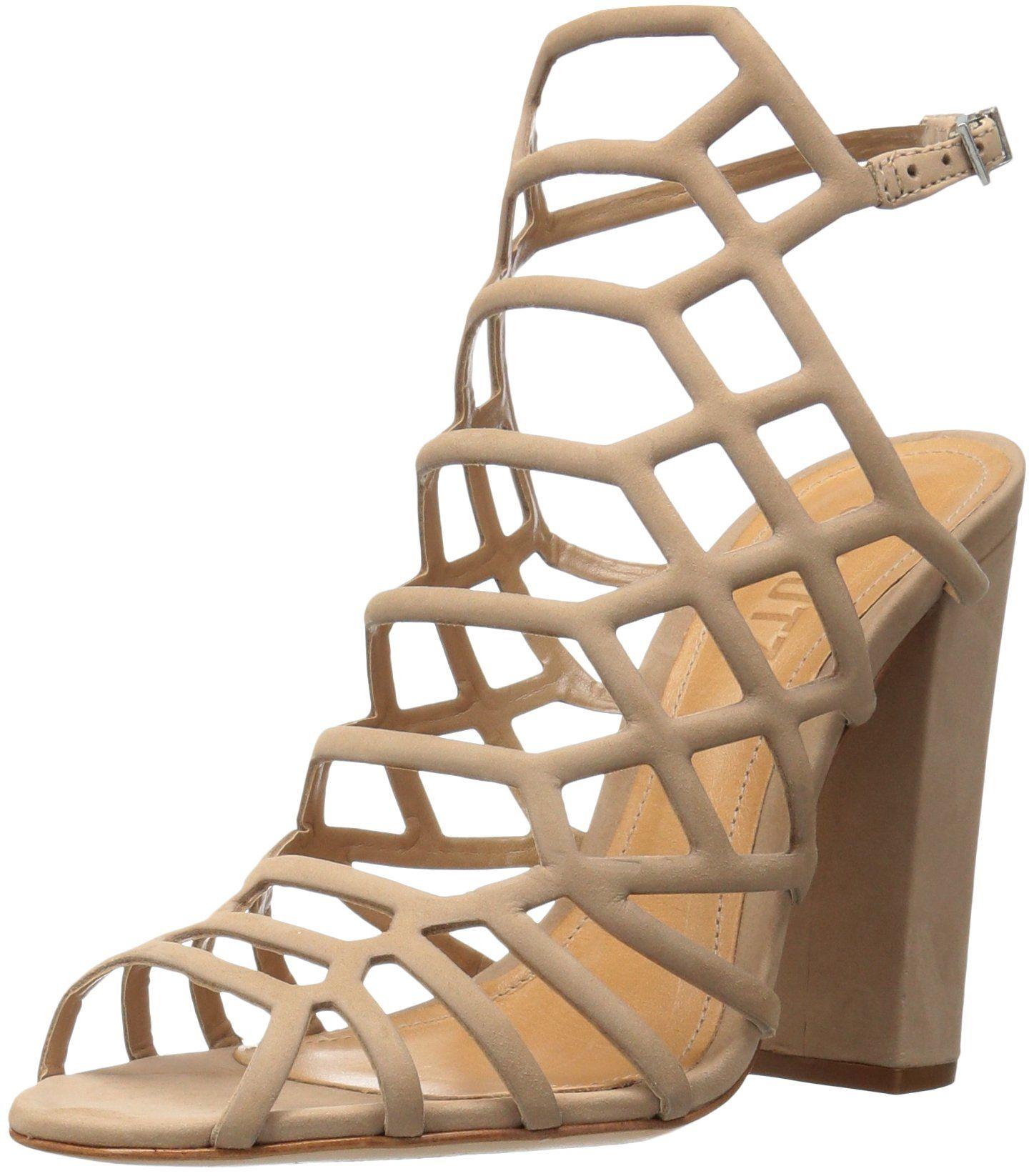 Schutz Women's Jaden Dress Sandal, Amber Light, 6 M US