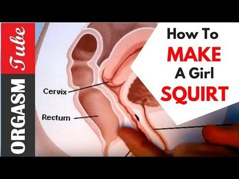 Sex positions to make a girl squirt