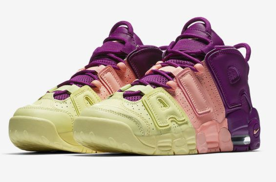 99f4fad69d9a47 Look Out For This Colorful Nike Air More Uptempo GS Now Nike quietly  released this colorway