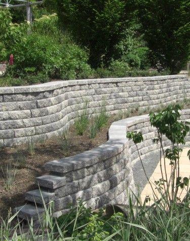 Gartenmauer Pflanzsteine und andere Möglichkeiten der Abgrenzung - steine fur gartenmauer