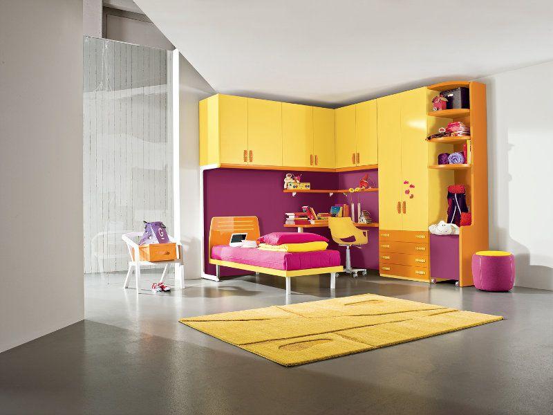Zona notte camerette per bambini martinelli mobili for Sme arredamenti