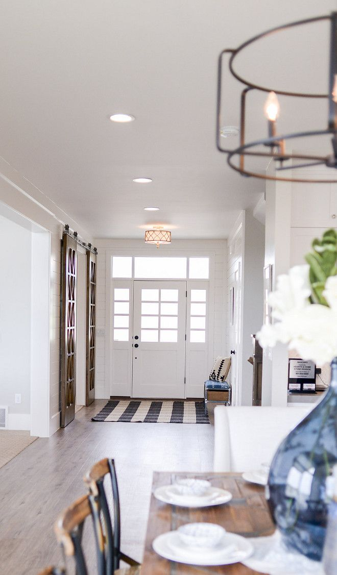 Open Floor Plan The Foyer Opens To An Open Concept Kitchen Dining Area And Family Room Open Concept Living Room Open Floor Plan Kitchen Kitchen Floor Plans #open #entryway #living #room