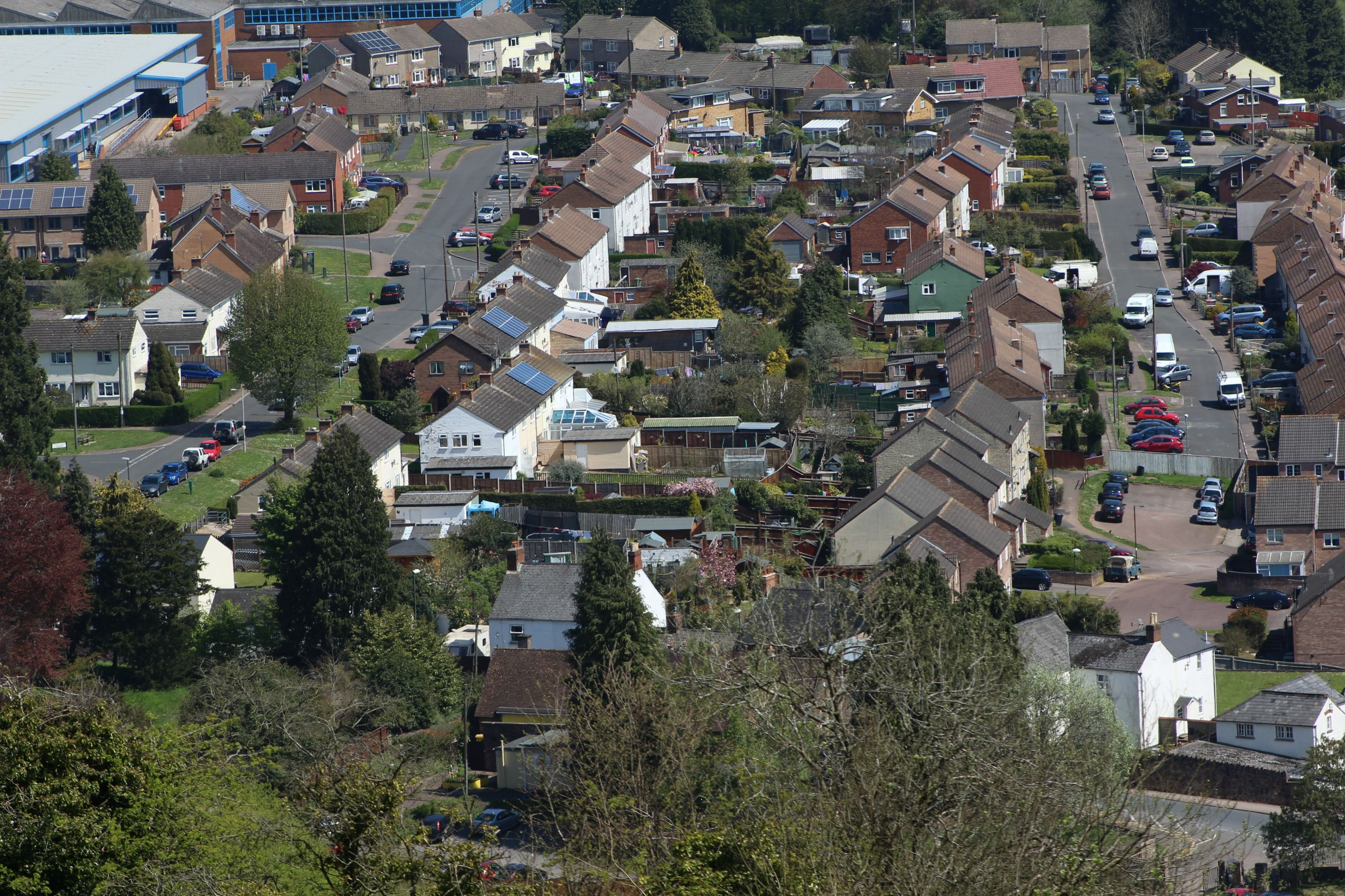 Eastern Avenue and Parks Road, Mitcheldean, Gloucestershire.
