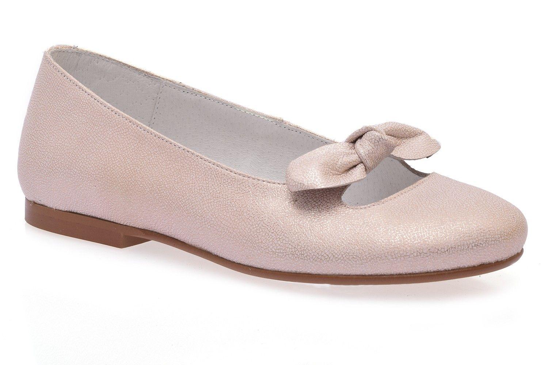 9018de89de2 Manoletina rosa para niña | Calzado Infantil | Zapatos de comunión ...
