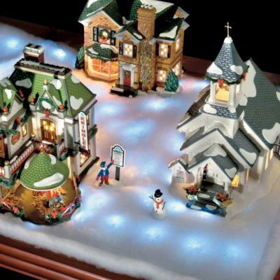LED Lighted Snow Blankets | Christmas Decorating Ideas ...