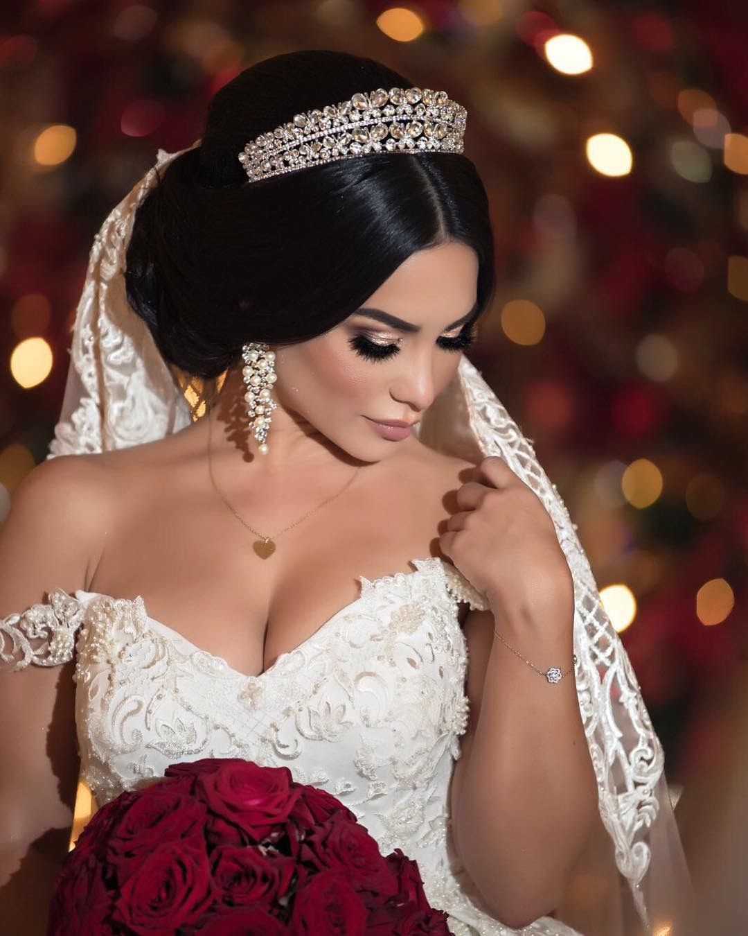 Pin by Rosamaria Russo on Boda Wedding hairstyles with