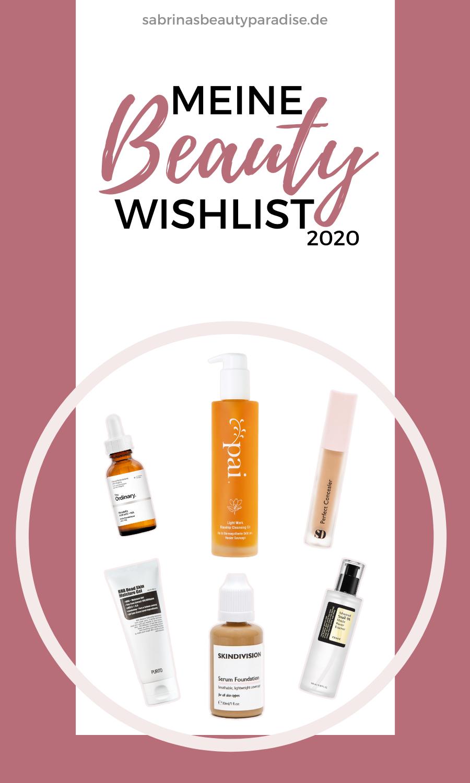 Photo of Meine Beauty Wishlist 2020