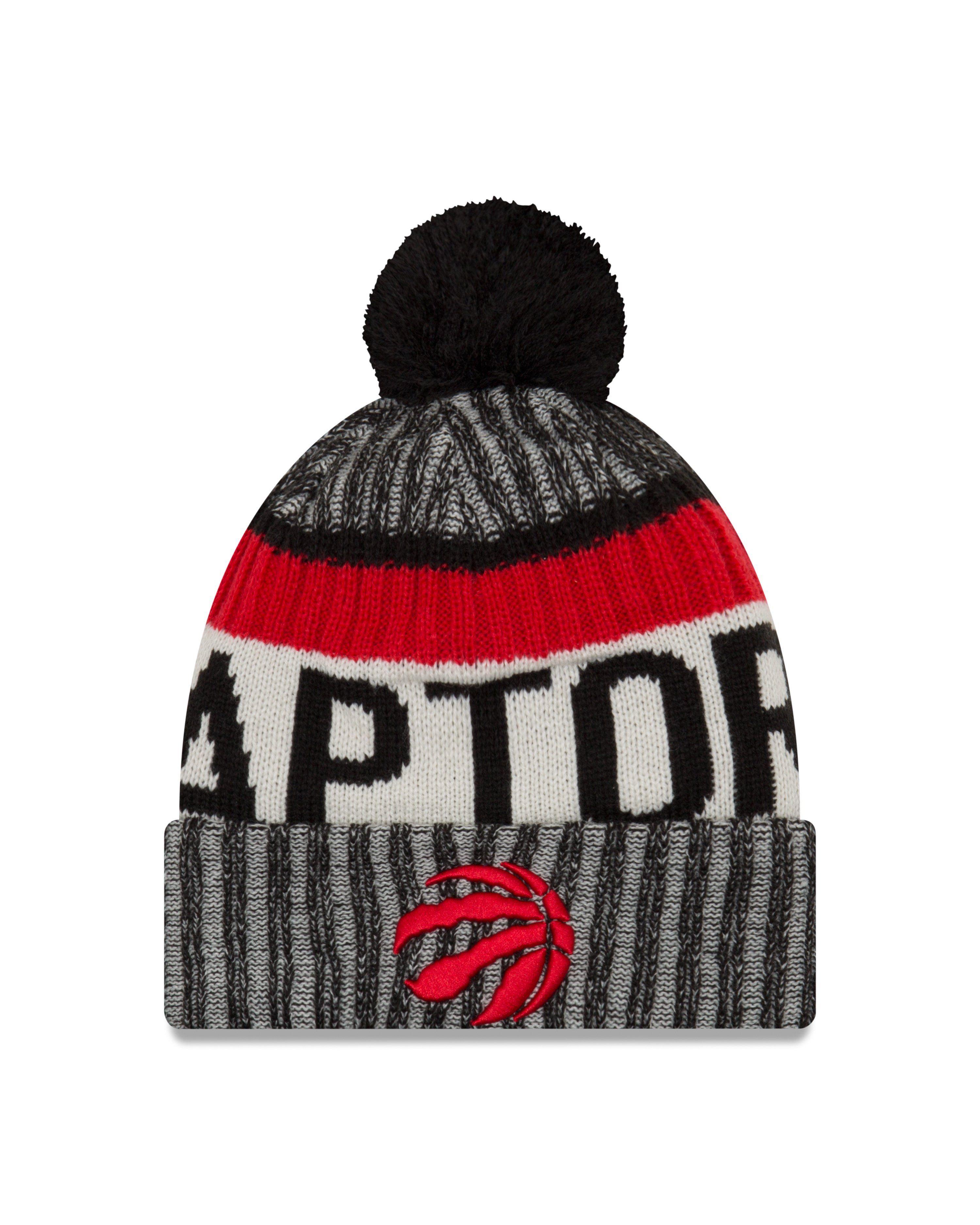 New Era Mens Mens Jets 2017 Sideline Official Sport Knit Hat