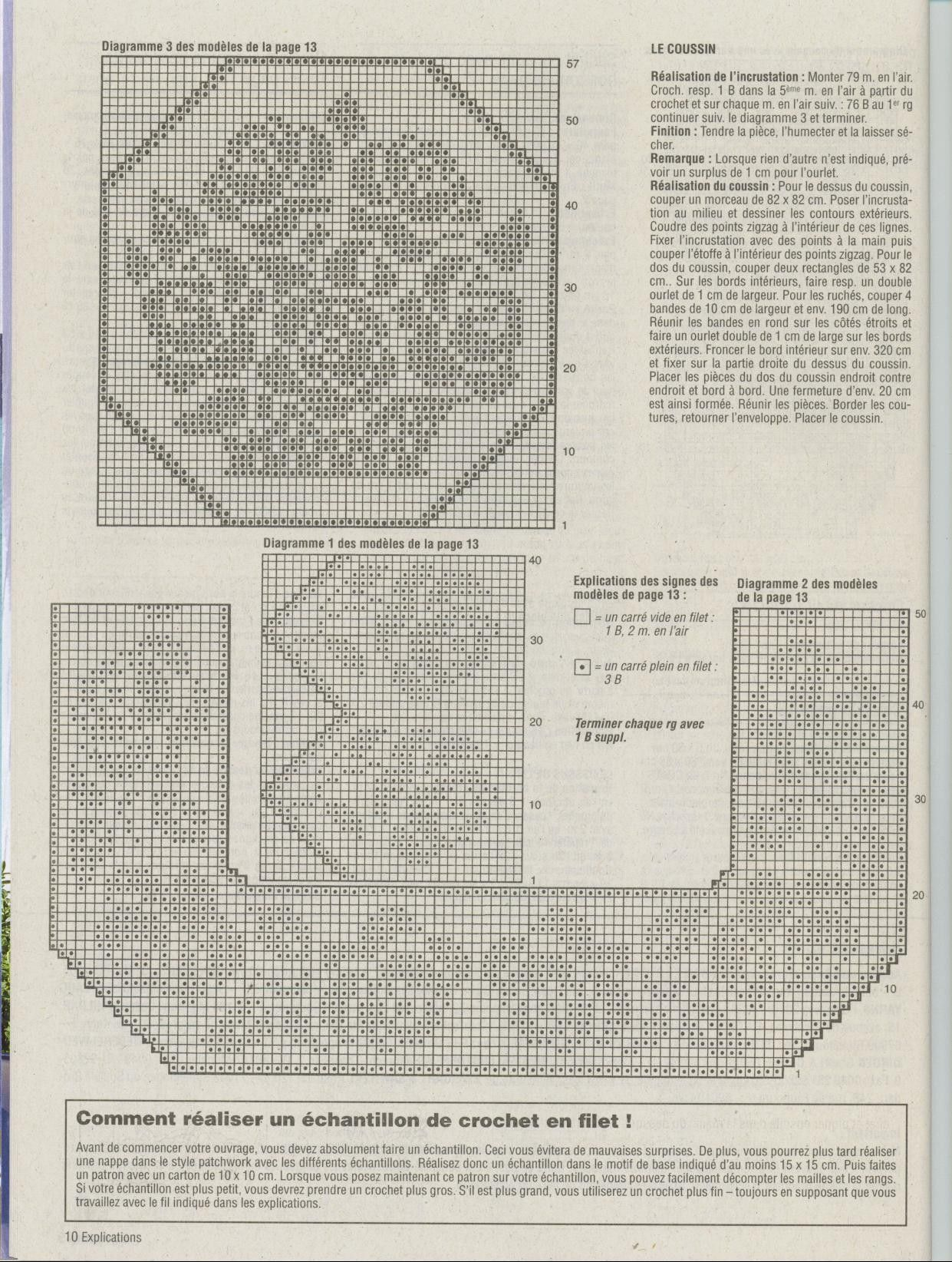 Pin de Anna Matusiak en Filet Crochet | Pinterest | Canastilla ...