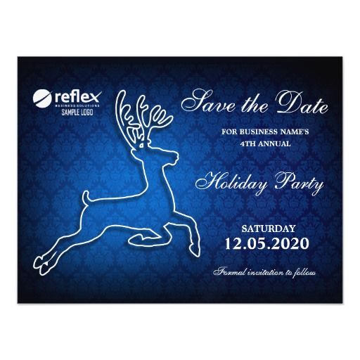 holiday party save the date templates