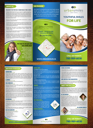 A brochure design that stands out is essential for your dental ...