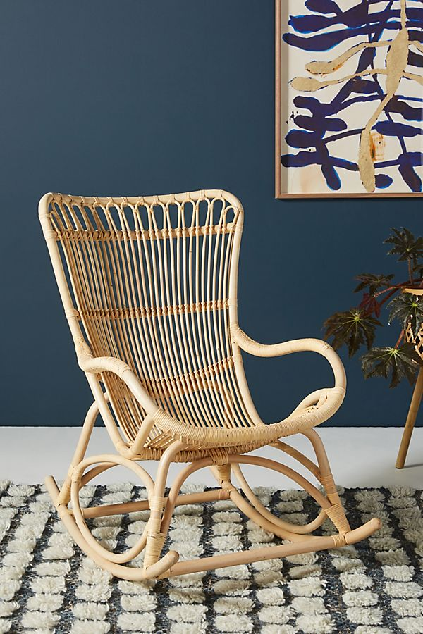 Sika Monet Rattan Rocking Chair Rattan Rocking Chair Rocking Chair Rocking Chair Nursery