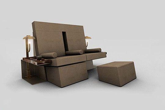 Sneek Preview Of Furniture Found At David Lynchu0027s Silencio Nightclub