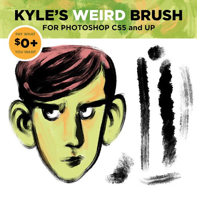 how to get kyle brushes photoshop