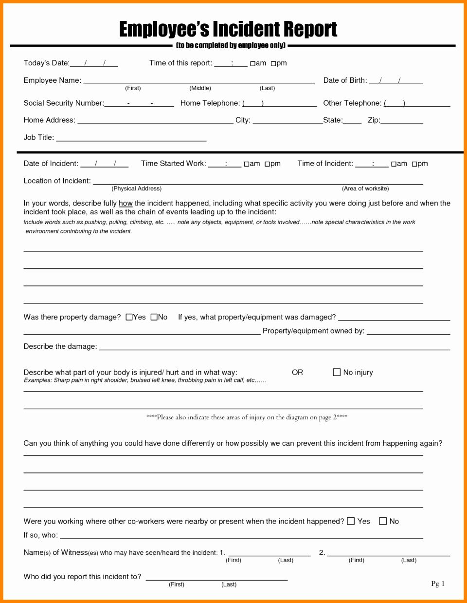 Nursing Incident Report Sample Inspirational Accident Report Sample Format Car Incident Investigation Report Card Template Incident Report Form Report Template