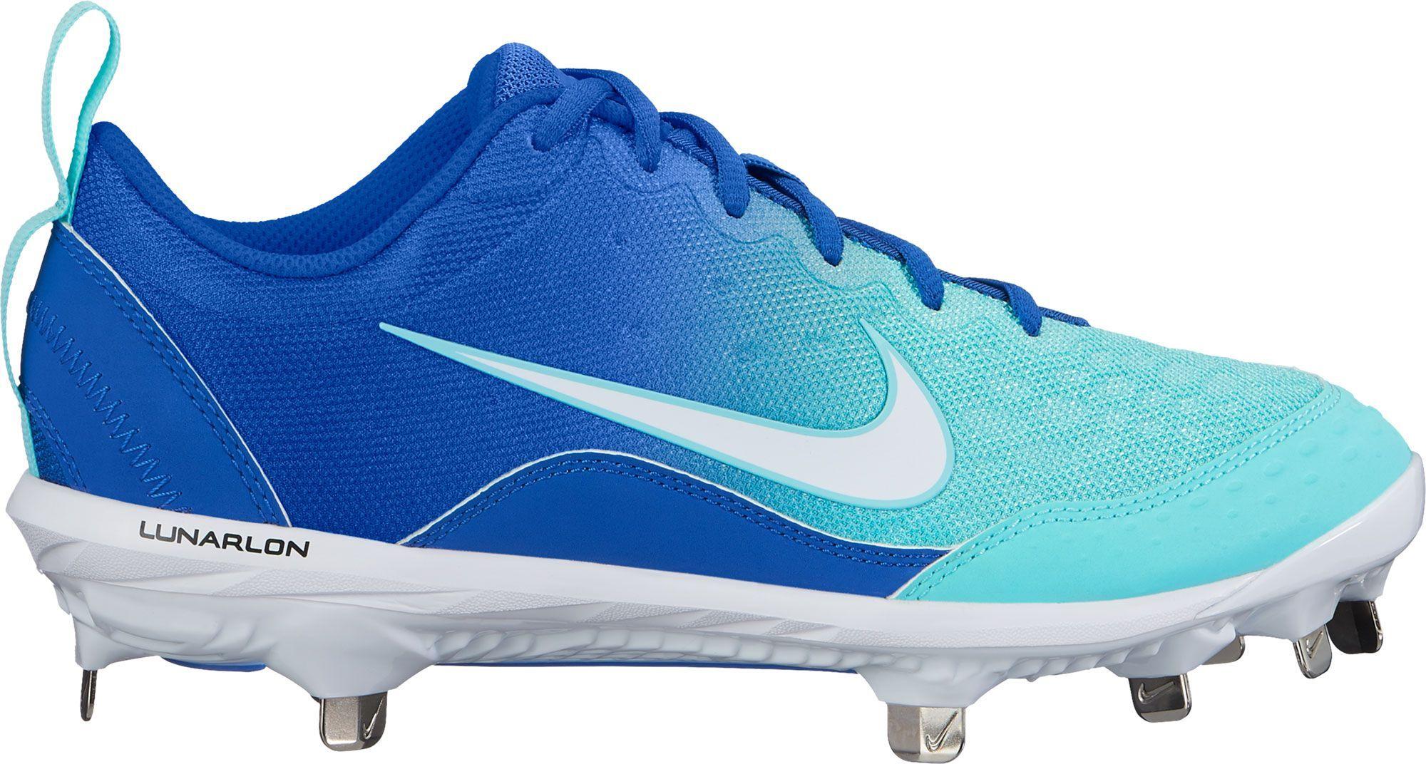 c406eef353b9f Nike Women's Lunar Hyperdiamond 2 Pro Fastpitch Softball Cleats ...