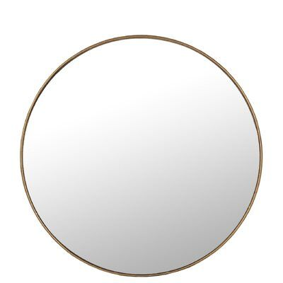 World Menagerie Vidette Round Accent Mirror Size 15 H X 15 W In 2020 Mirror Circular Mirror Large Round Mirror