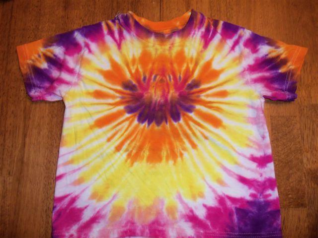 Standard circle tie dye