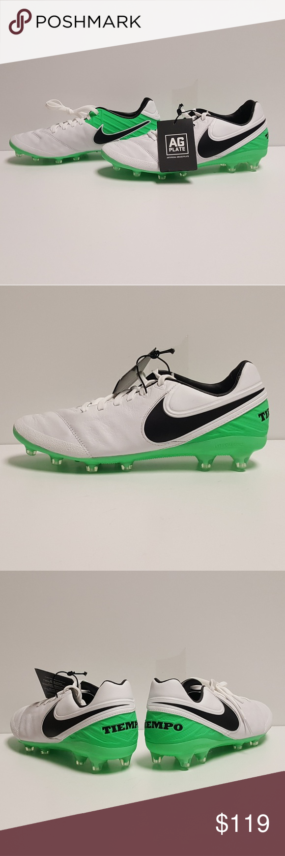 e4bb87006456 Nike Tiempo Legacy 2 AG Pro Soccer Cleats Mens Up for grabs are the Nike  Tiempo
