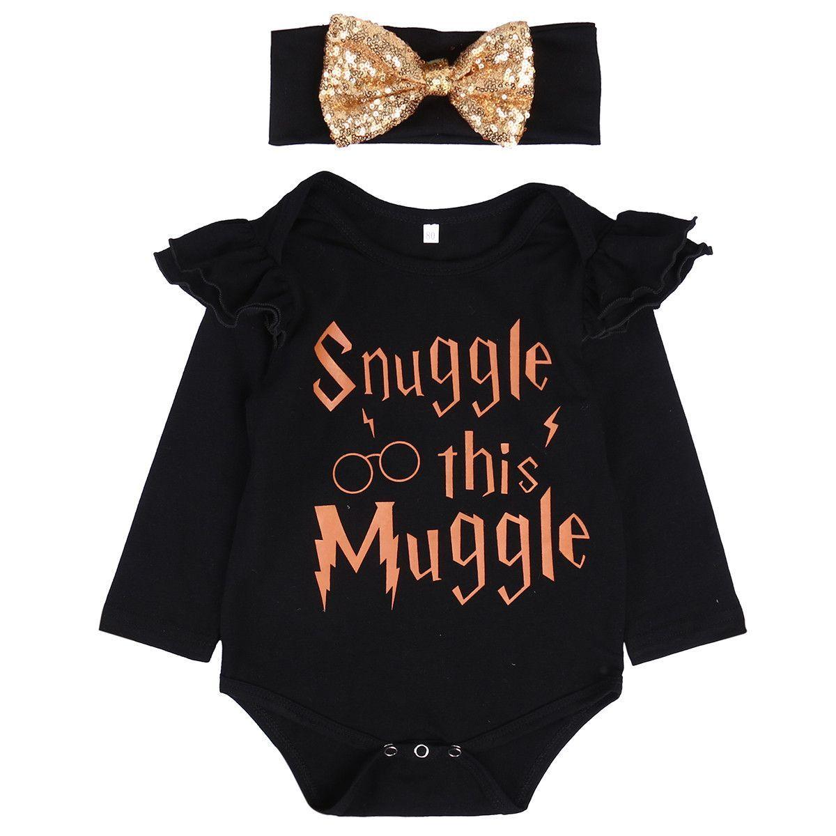 a53a0e03e630 Snuggle this Muggle Romper