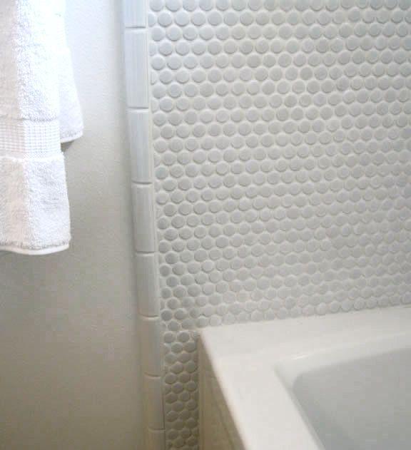 Tile Edging Examples | modwalls Modern Tile | Penny tile ...