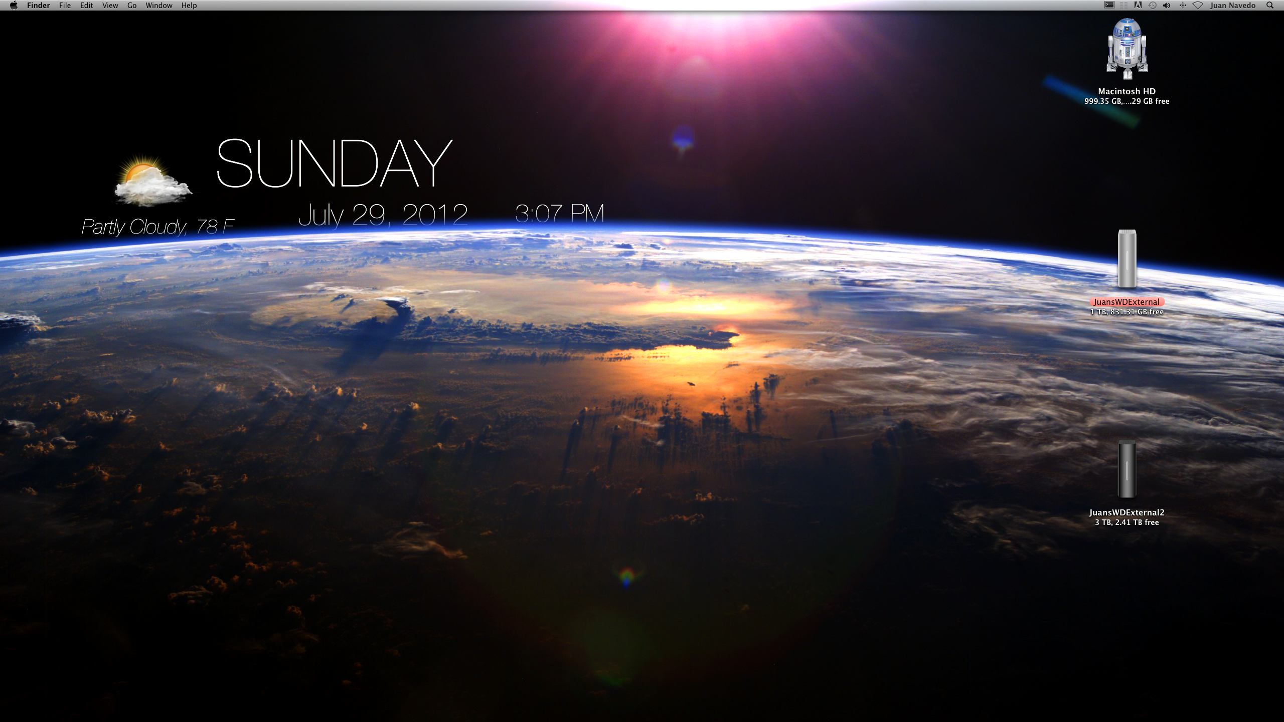 Live weather wallpaper for pc
