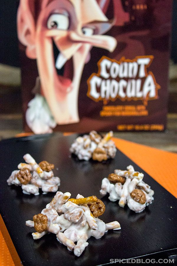 Count Chocula Clusters Recipe Cereal, Count and Halloween parties - neighborhood halloween party ideas