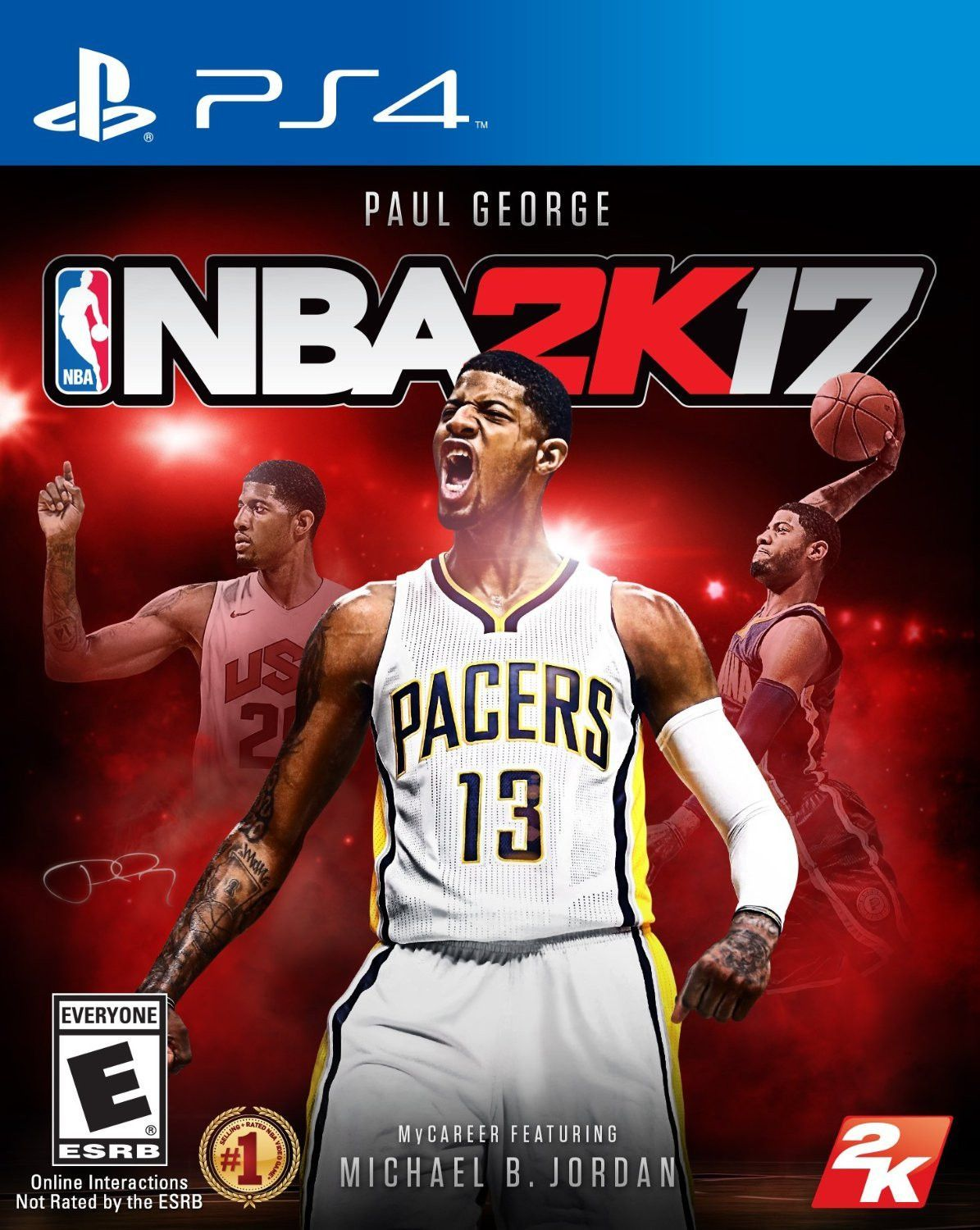 NBA 2K17 Standard Edition For PlayStation 4 (Physical