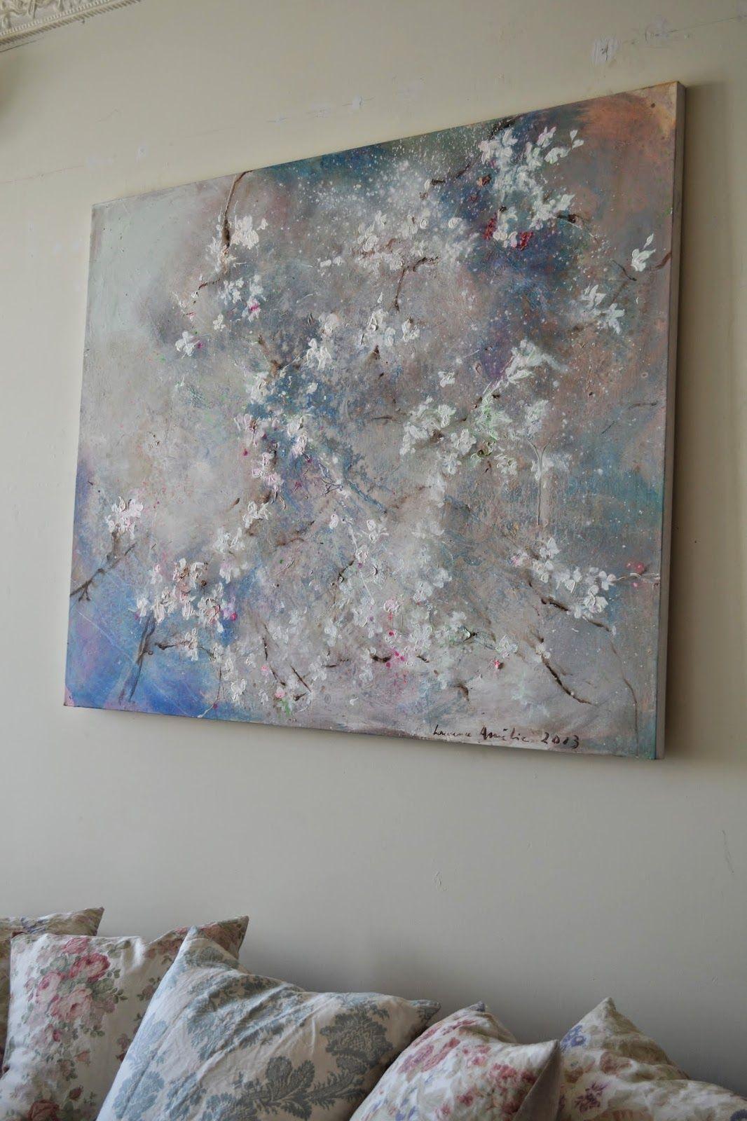 Laurence Amelie painting - Rachel Ashwell Shabby Chic Couture Santa Monica Store - image paintmewhite.com