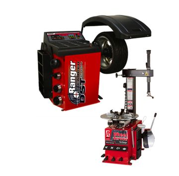 Sale Ranger Combo Special R745 Rimguard Tire Changer And Dst 2420 Dynamic Wheel Balancer R745 Dst 2420 Ranger Combo Tire