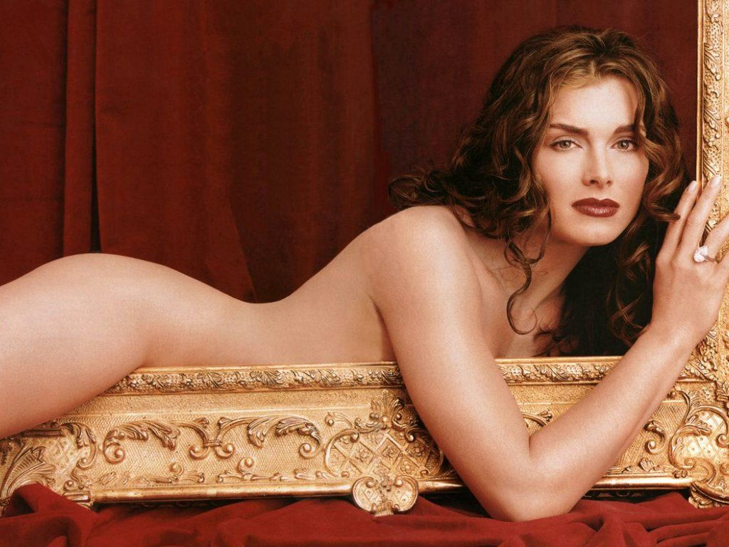 brooke shields young naked