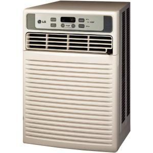 9 500 Btu Casement Window Air Conditioner With Remote Lw1011cr At The Ho Casement Window Air Conditioner Portable Air Conditioner Window Window Air Conditioner