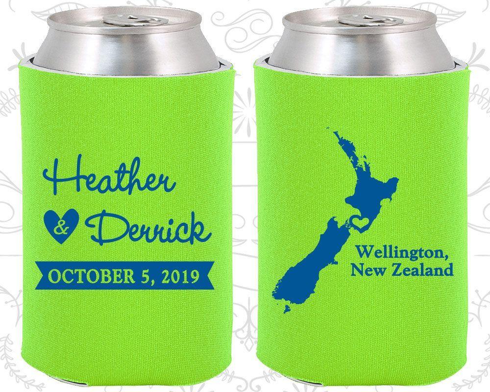 New Zealand Wedding Favors Coolies Destination Wedding Gift New