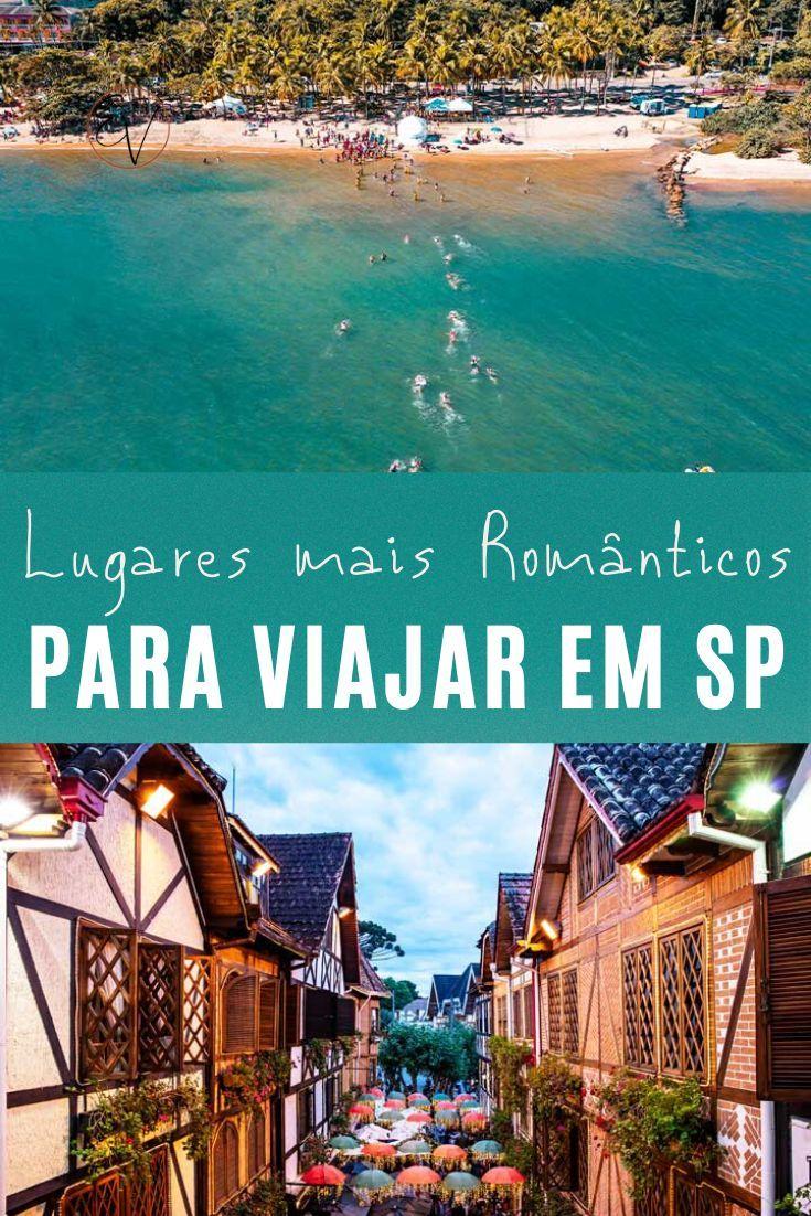 6 lugares românticos para viajar em São Paulo