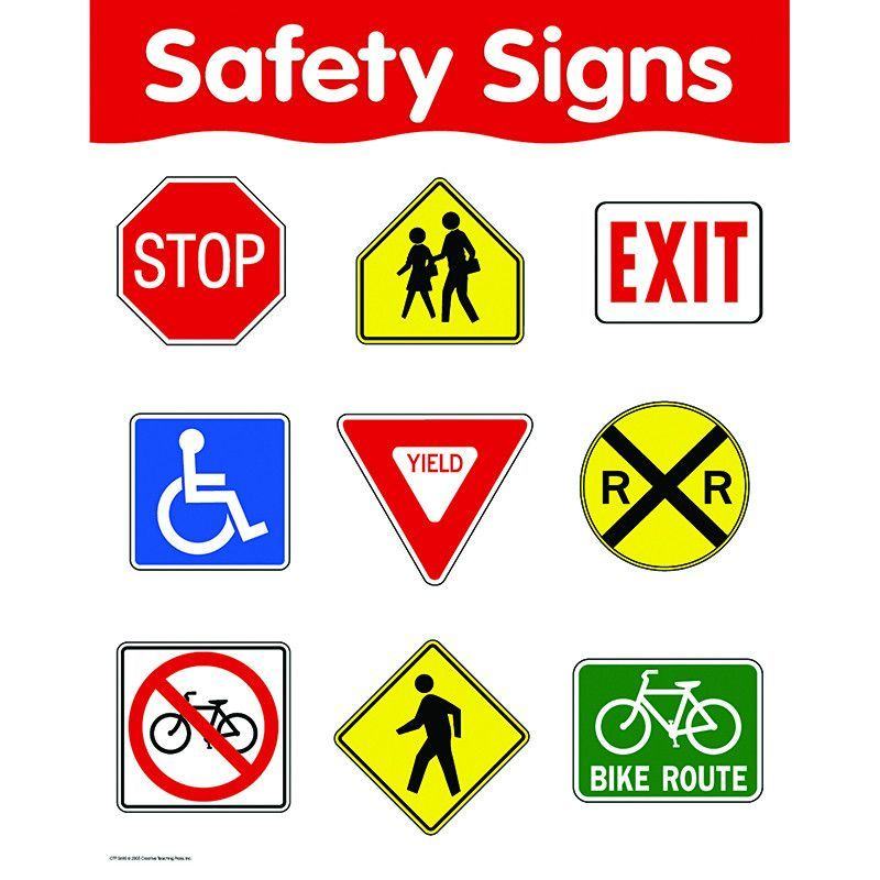 SAFETY SIGNS | education | Creative teaching press ...