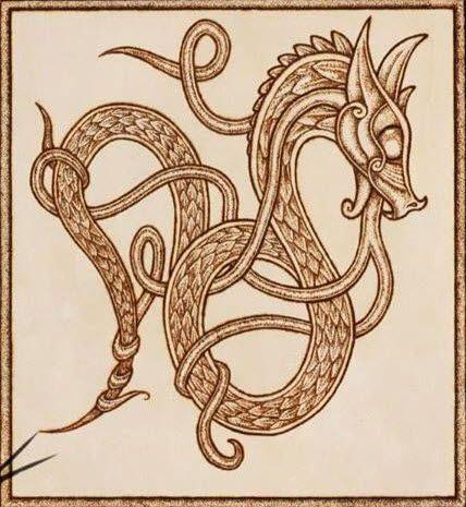 Celtic Dragon Knot Celtic Dragon Tattoos Celtic Dragon Celtic Artwork