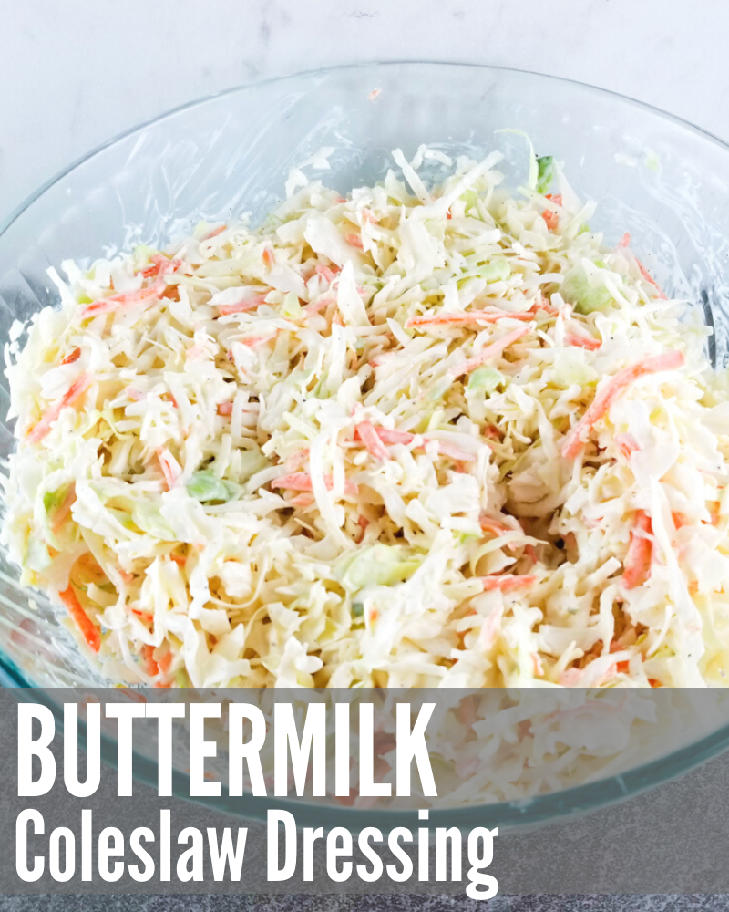 Buttermilk Coleslaw Dressing In 2020 Buttermilk Coleslaw Recipe Salad Dressing Recipes Homemade Pulled Pork Recipes