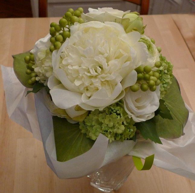 Des fleurs artificielles pour mon mariage : un atelier DIY | Fleurs ...