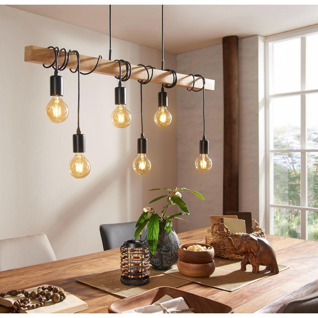 HÄNGELEUCHTE online kaufen XXXLutz   Rustikale küchen beleuchtung, Holz hängelampe, Lampen holz ...
