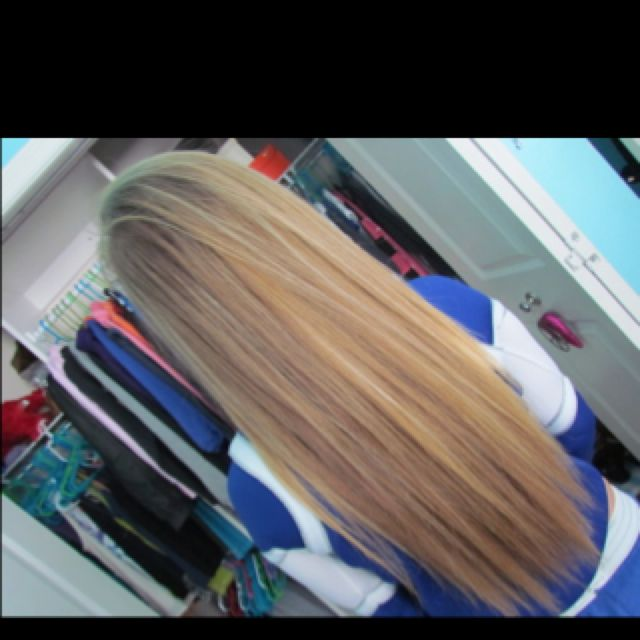 I want my hair this long.
