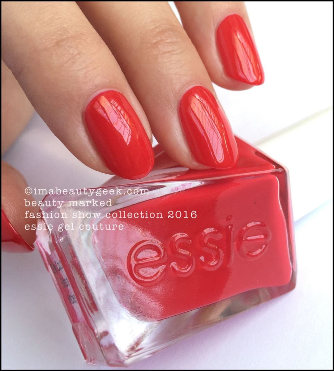 Essie gel couture Beauty Marked | Beauty | Pinterest