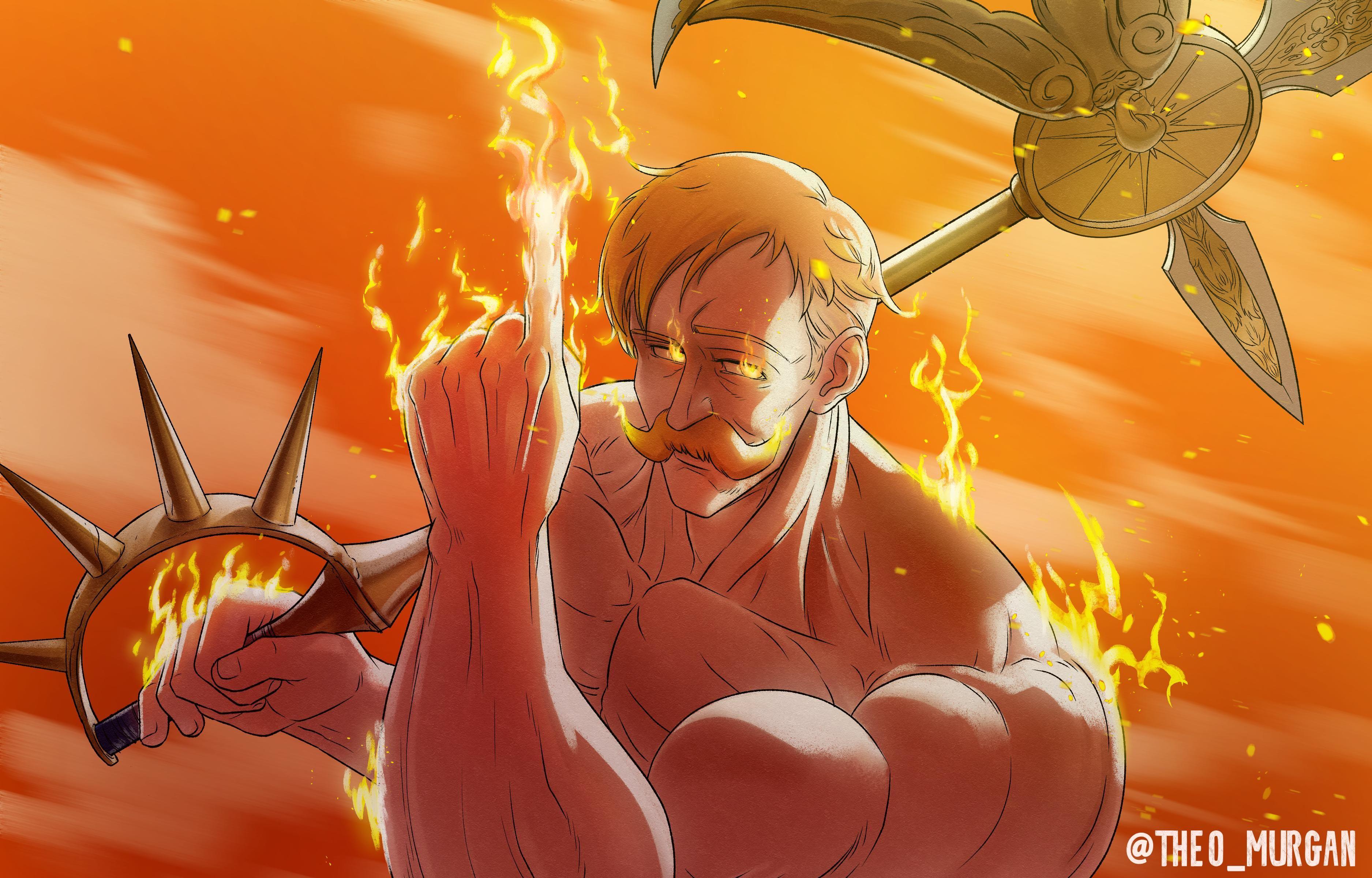 Drew Escanor Being A Badass Like Always Nanatsunotaizai Anime Heaven Seven Deadly Sins Anime Anime Wallpaper