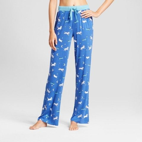 ed4dbbc1e7 Nite Nite Munki Munki Women s Nite Nite By Munki Munki Twinkle Dogs Jersey  Pajama Pants