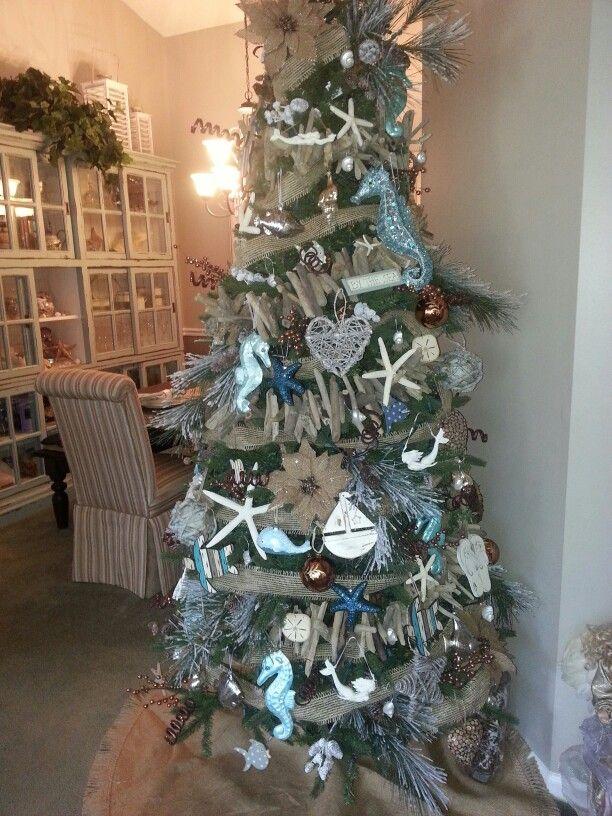 By the Sea Christmas tree
