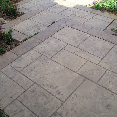 Stamped Concrete Patio Design Ideas, Pictures, Remodel, And Decor