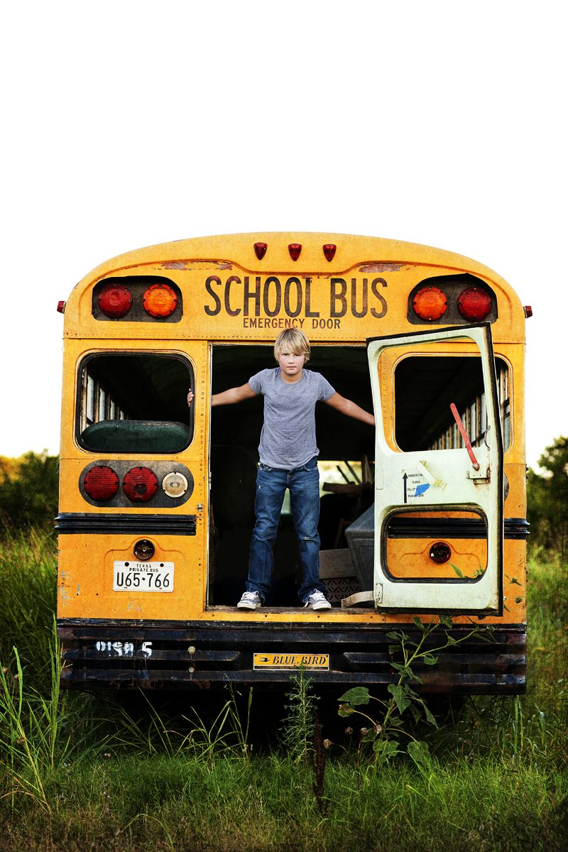 Back To School Picture Just Need An Old Bus In A Field School