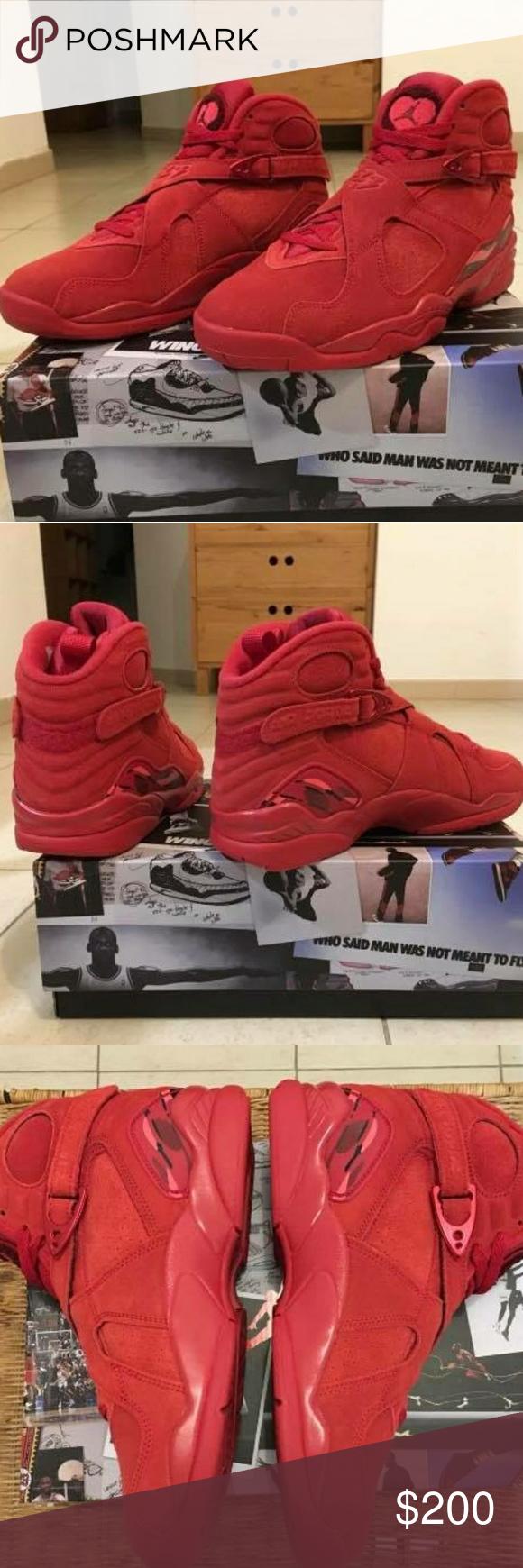 Jordan 8 Valentine S Day W Receipt Brand New 100 Authentic