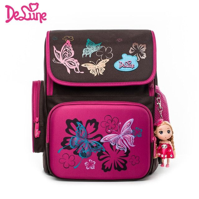 fd454d00c16c 2018 Delune 3D design kids cartoon school bags for girls 5-8 years old boys