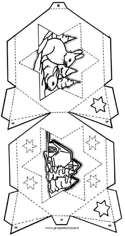 Kleurplaten Kerststal Maken.Kerstlampje 1 Gkv Apeldoorn Zuid Kerstmis Kerst Kleurplaten